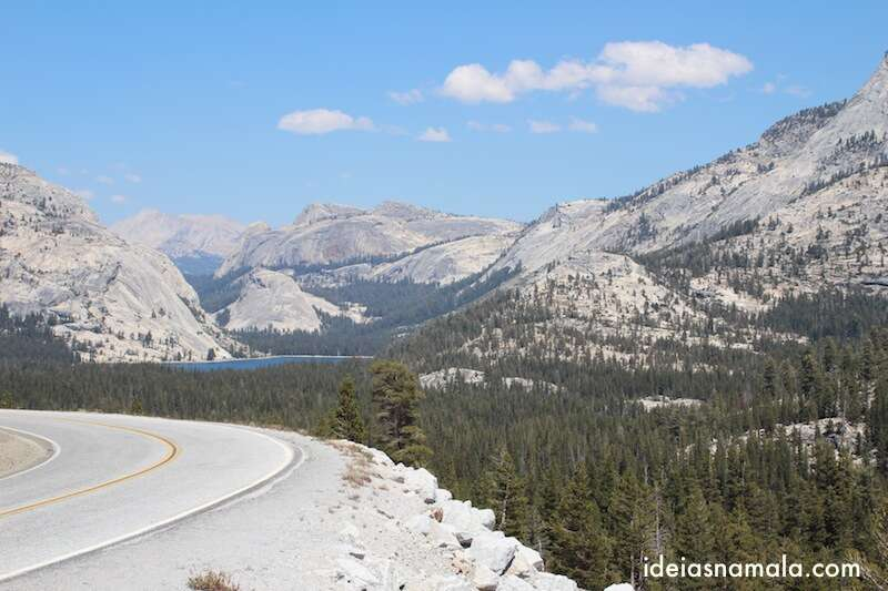 Lago Visto do Tioga Pass, Yosemite