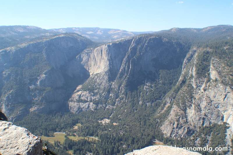 Yosemite Valley visto do Glacier Point