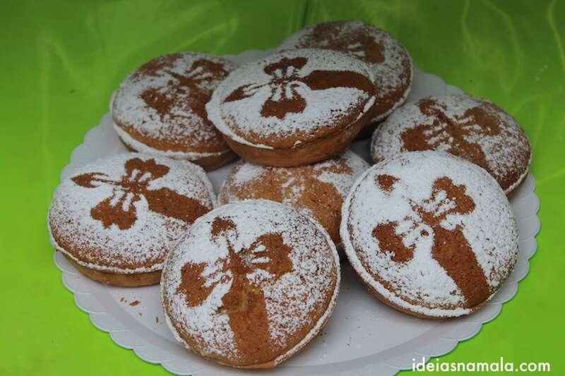 Biscoitos de Santiago.
