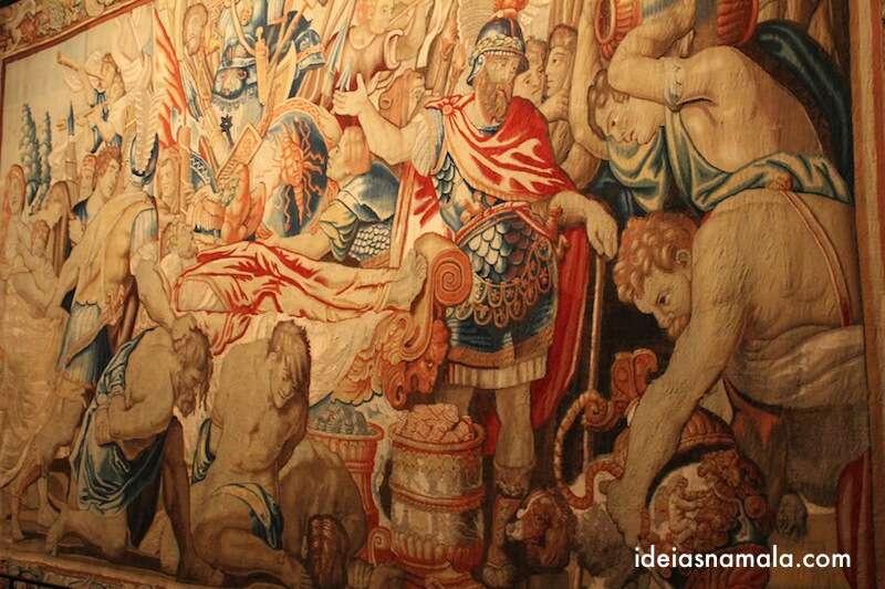 Tapeçaria do museu da cidade de Bruxelas