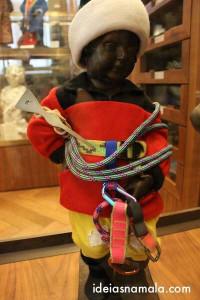 Manneken Pis vestido de alpinista