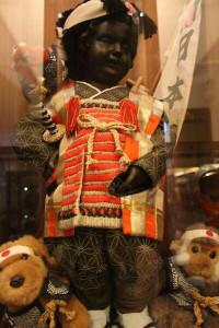 Manneken Pis vestido de samurai