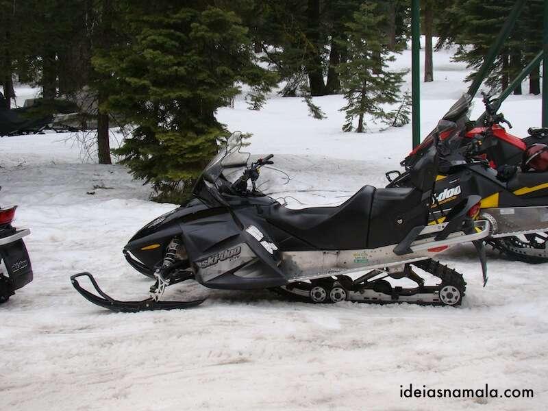 Snowmobile em Lake Tahoe