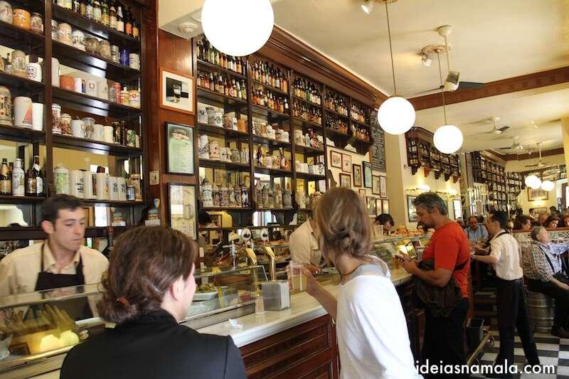 Bar de tapas em Madri