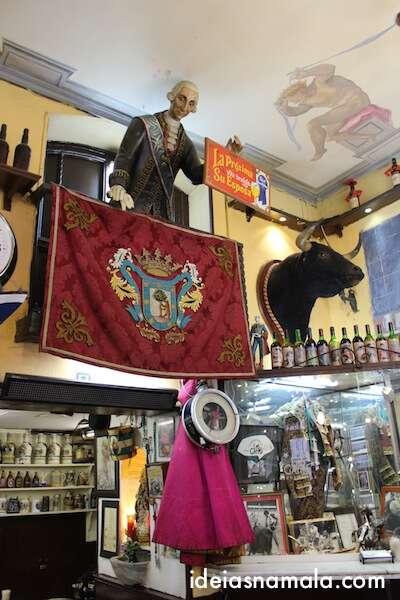 decoração do Los Gatos em Madri