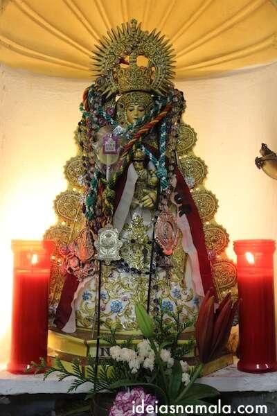 Santa na decoração do Los Gatos em Madri