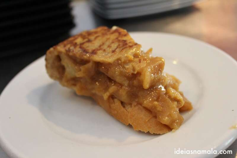 Famosa tortilha de batatas do Txirimiri