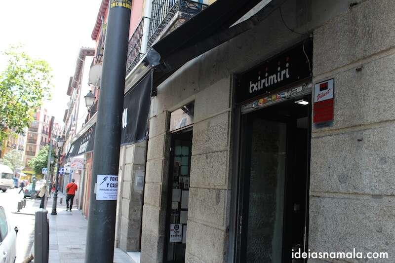 Txirimiri em Madri