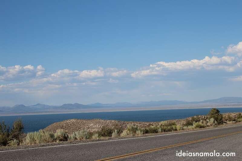 Monolake visto da Mammoth Lakes Scenic Route
