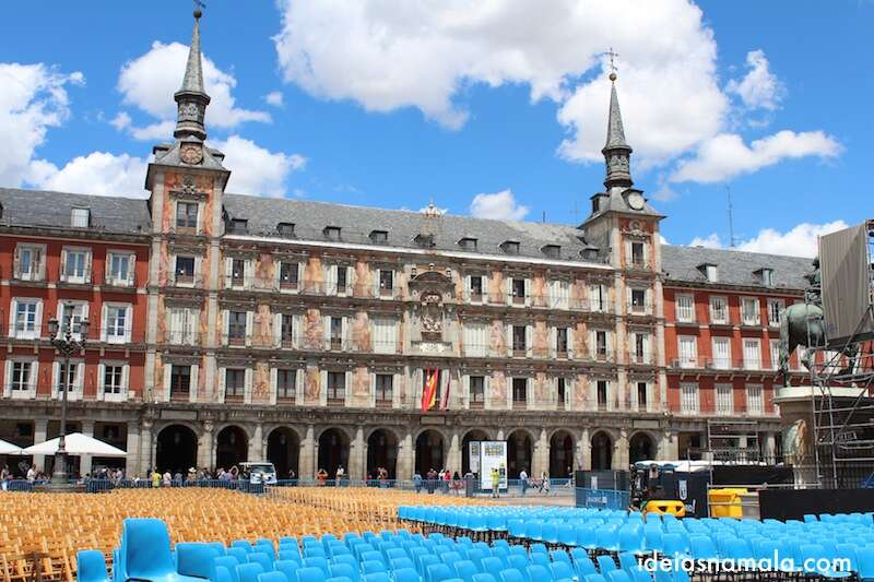 Plaza Mayor  - Madri