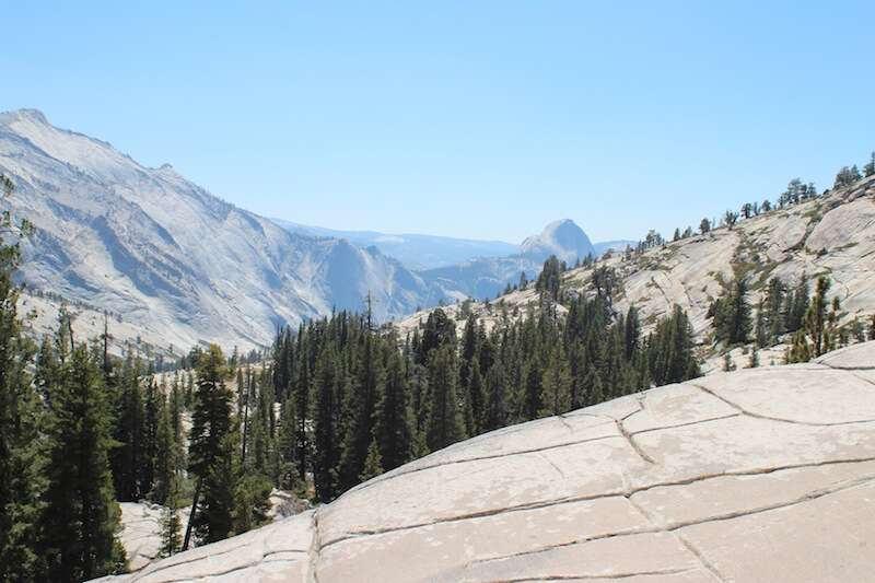 Vista do Tioga Pass, Yosemite