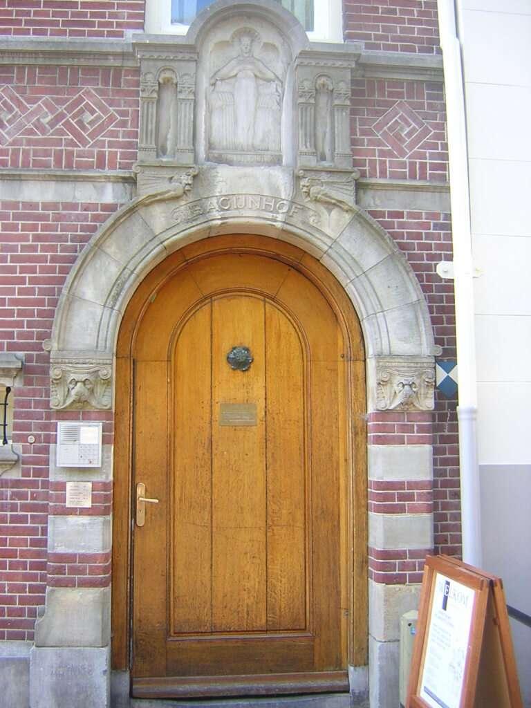 Porta do Beginhof - Amsterdã