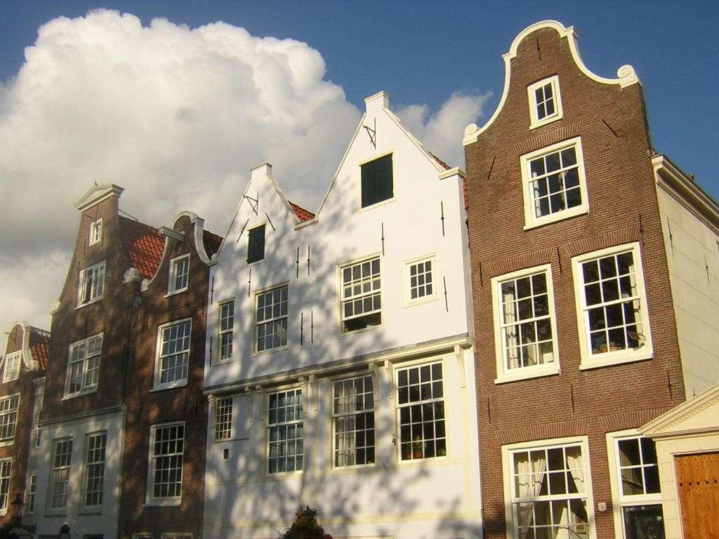 Dentro do Beginhof - Amsterdã