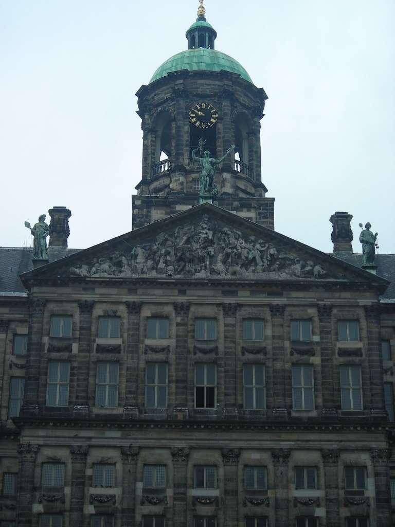 Koninklijk Paleis – ou palácio real de Amsterdã.