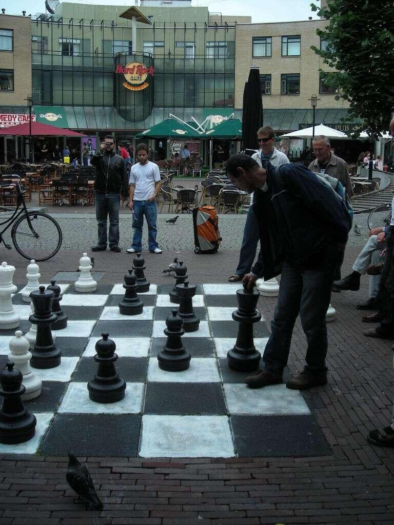 Tabuleiro de Xadrez em Leidseplein
