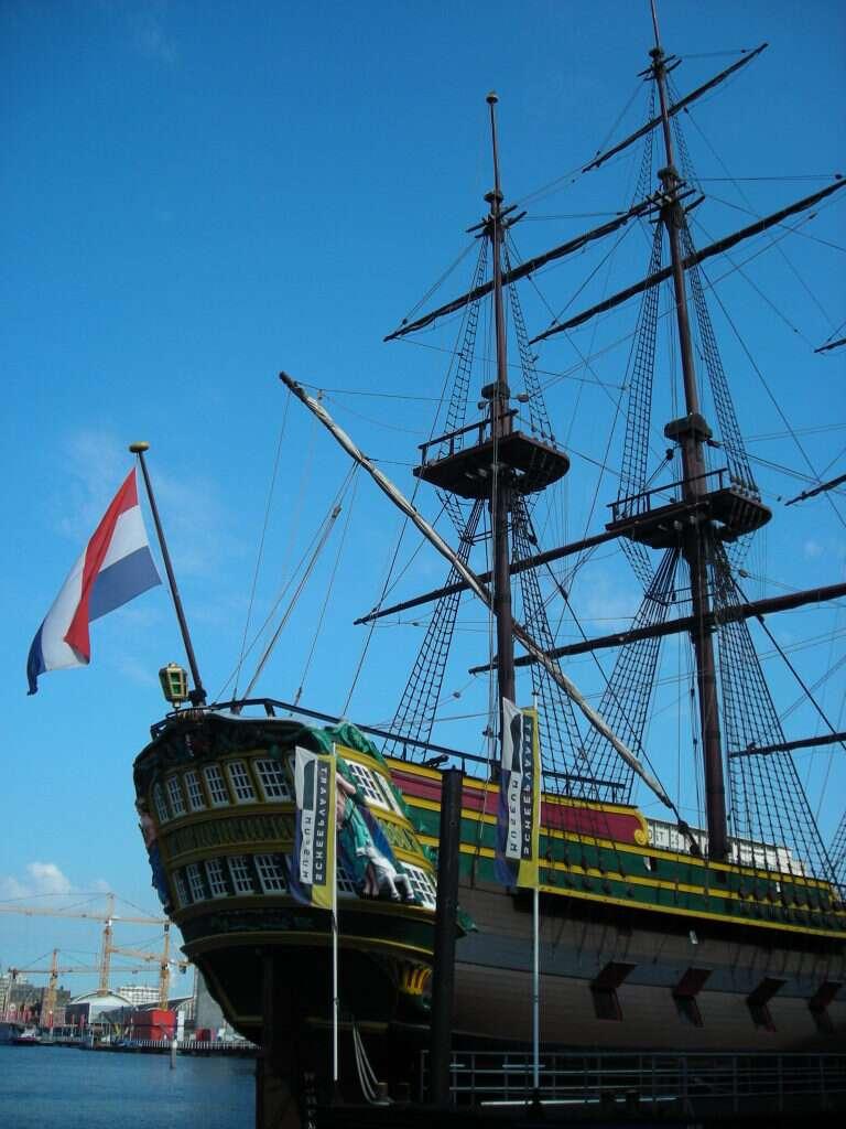 Replica do Navio da Companhia oriental das indias