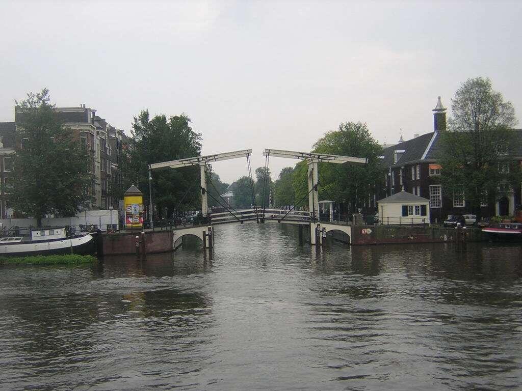 Ponte Magere Brug, amsterdã