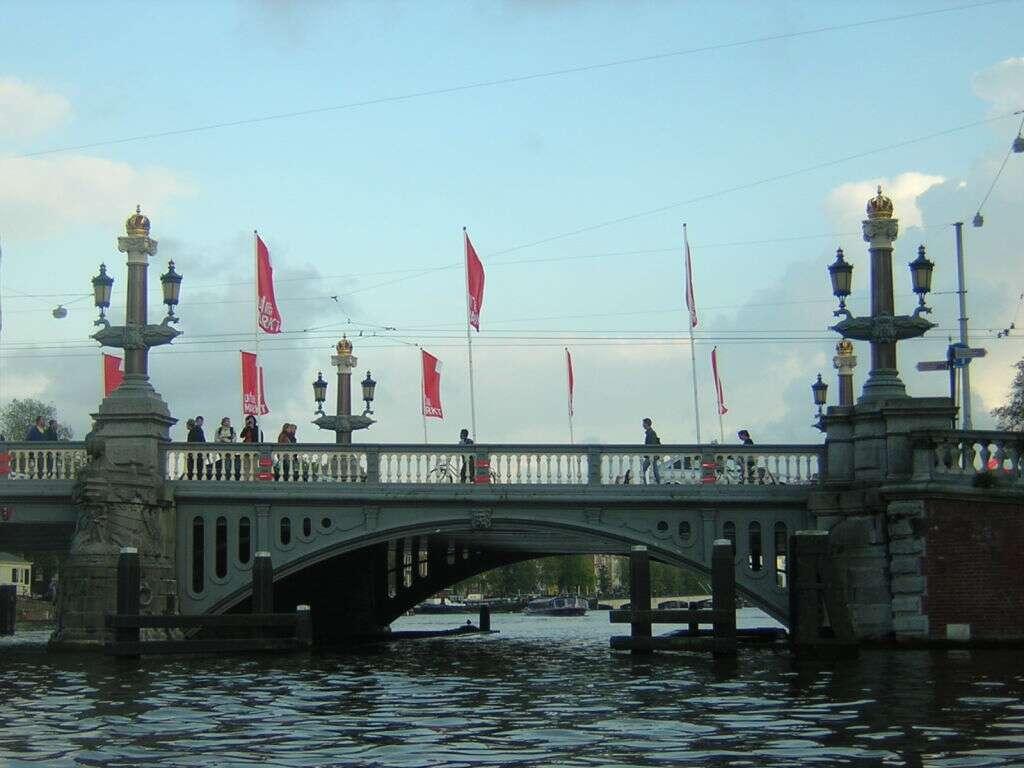Ponte Blauwbrug, Amsterdã