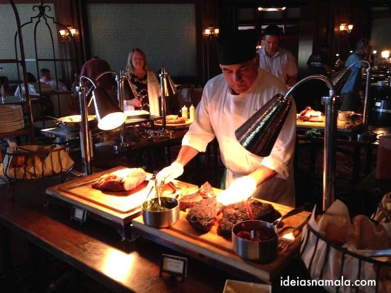 brunch de domingo - Hotel del Coronado - Carne