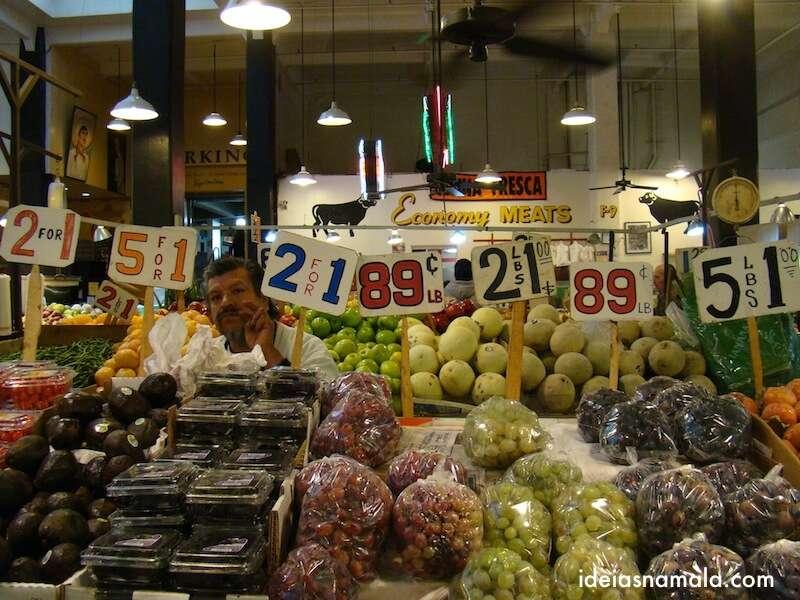 o Mercado Central de Los Angeles