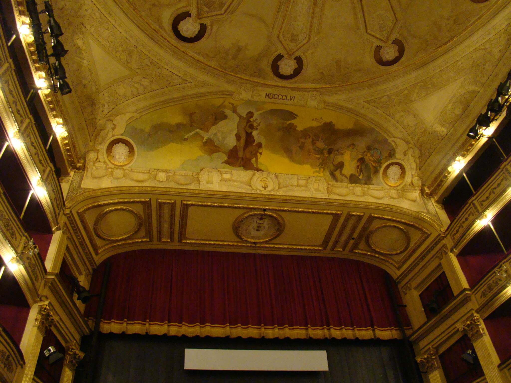 Interior do Teatro Solís - Montevidéu