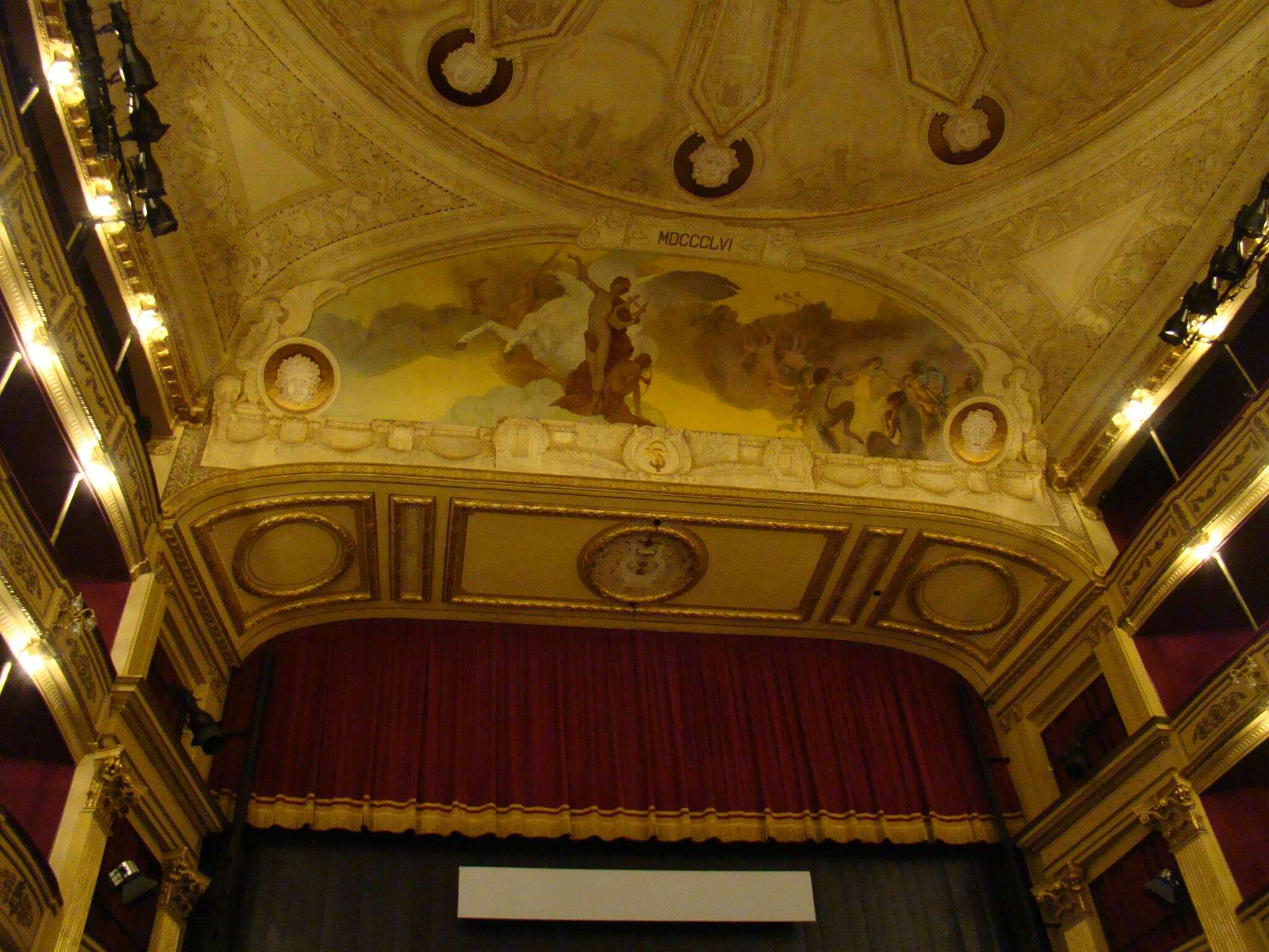Interior do Teatro Solís - Montevidéu