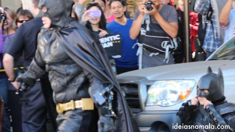 Batman & Miles seguindo para o desafio