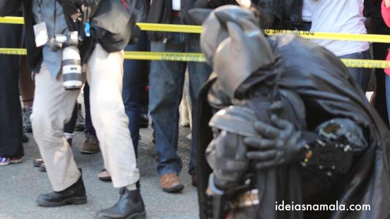 Batman & Miles - um dia inesquecível para os dois