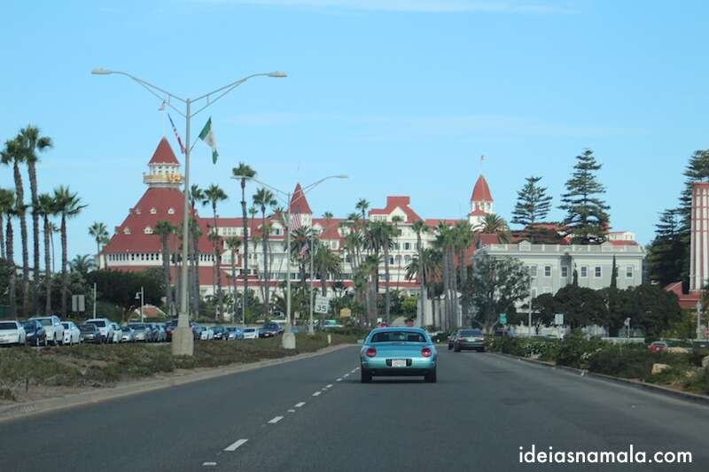 Hotel del Coronado, pertinho de San Diego