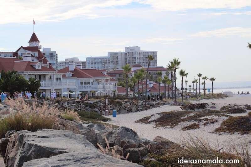 Hotel del Coronado - Praia