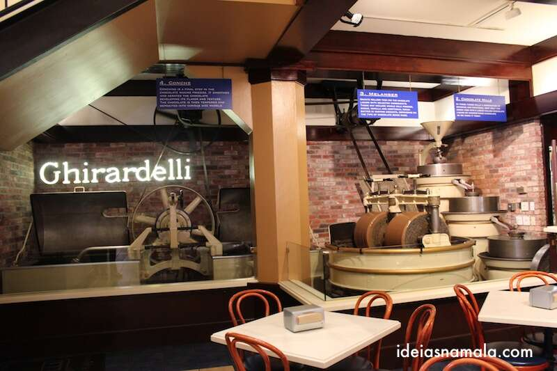 Máquina de chocolate Ghirardelli
