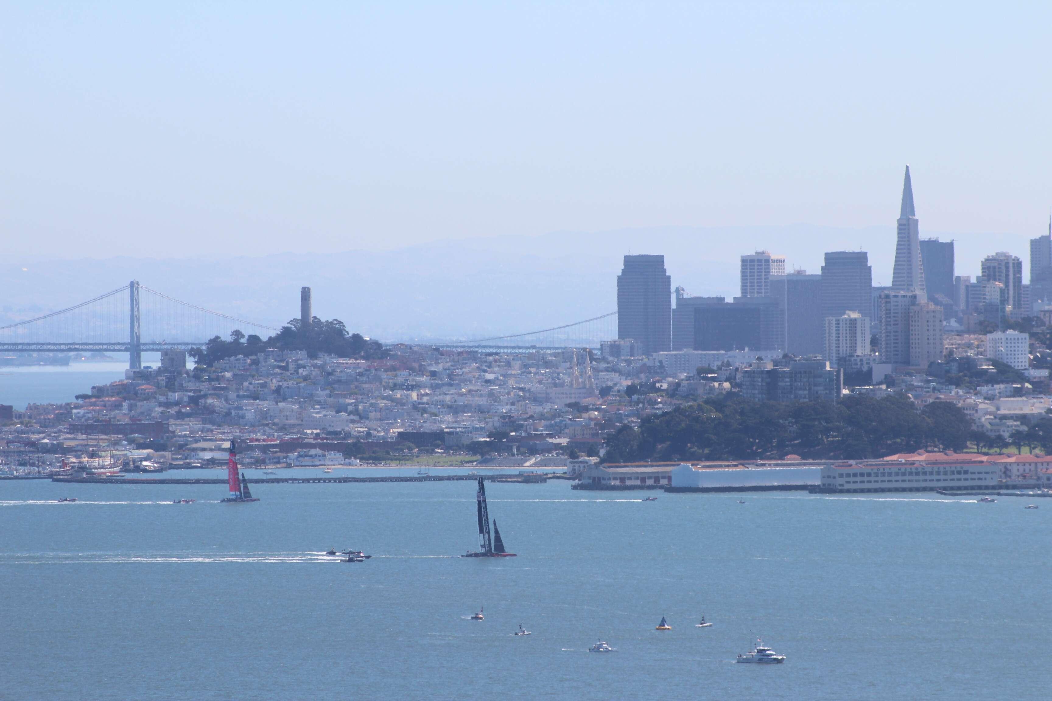 São Francisco vista de Marin Headlands