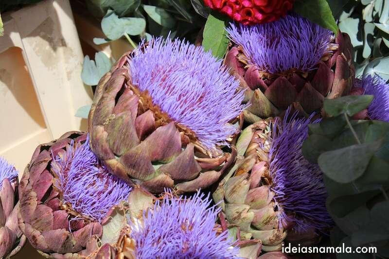 Mercado de Flores da Columbia Rd. - Londres