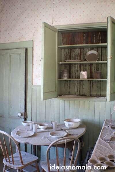 Casa abandonada em Bodie