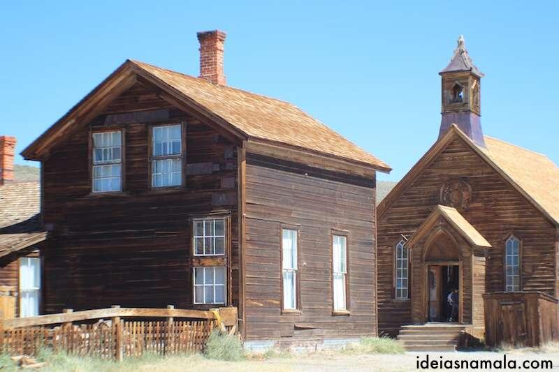 Igreja de Bodie - California