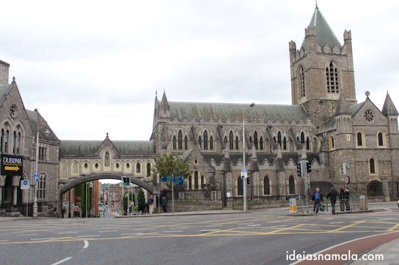 Fachada da Catedral de Christ Church | Dublin
