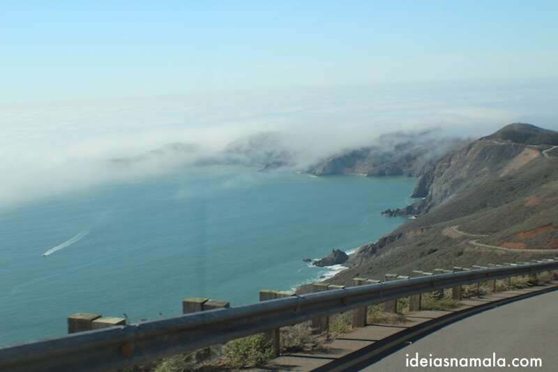Descida na Marin Headlands