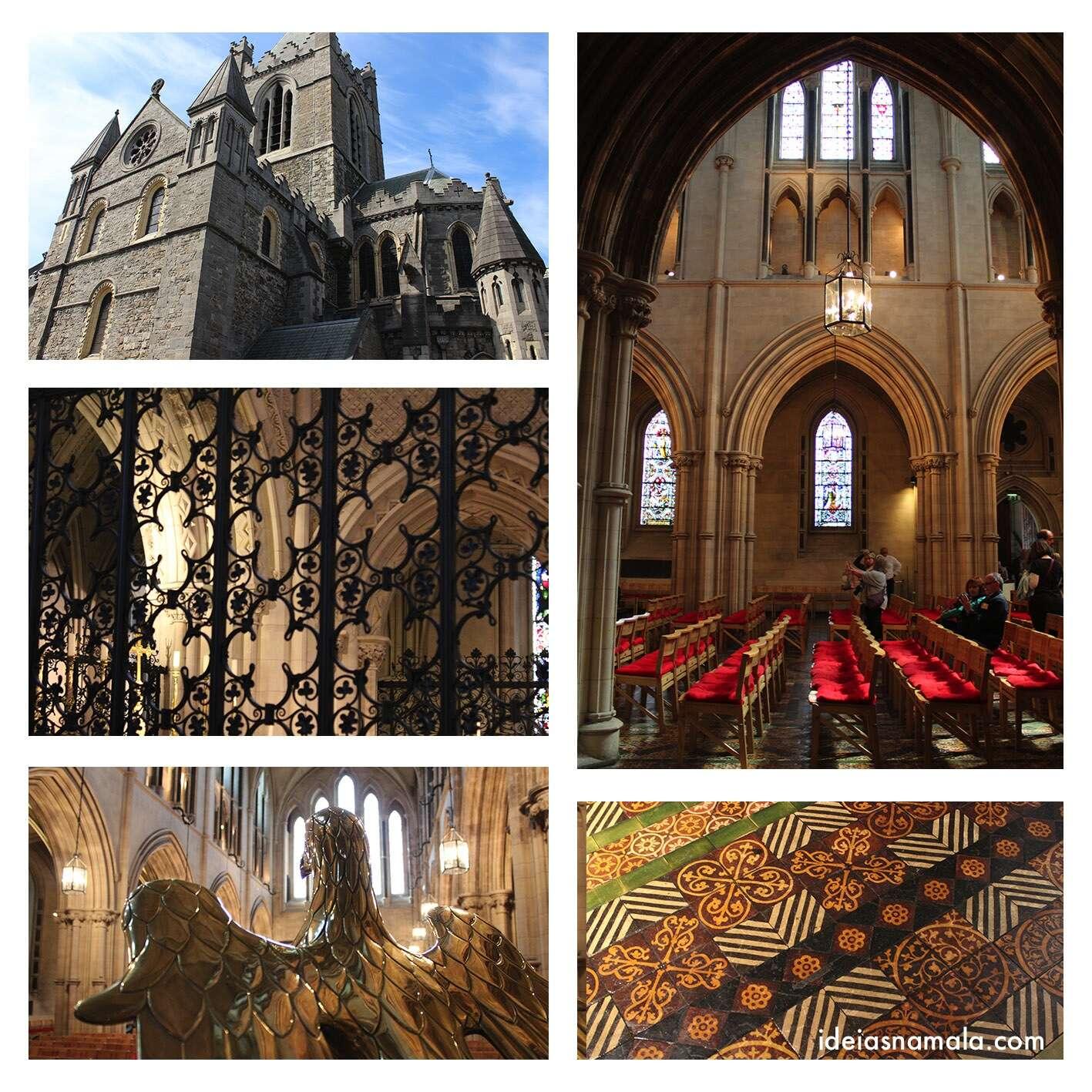 Interior da Catedral Chirstchurch em Dublin