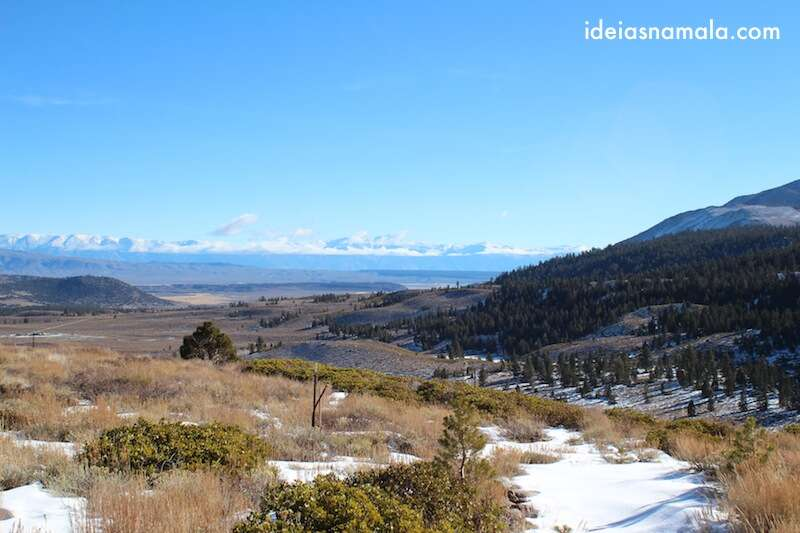 Mammoth Lakes, Old Mammoth road