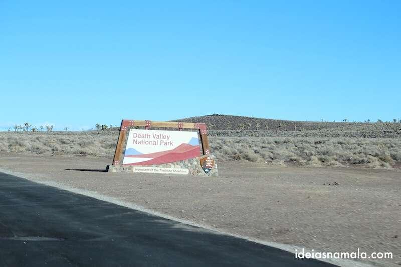 Finalmente chegamos ao Death Valley National Park