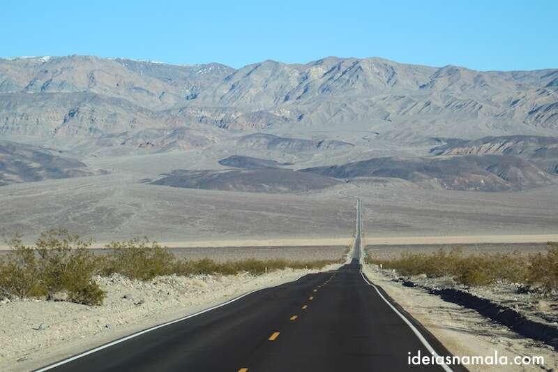 Subida infinita no Death Valley