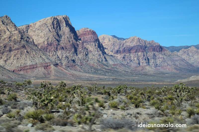 Montanhas coloridas pertinho de Las Vegas