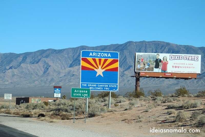 Fronteira Nevada - Arizona