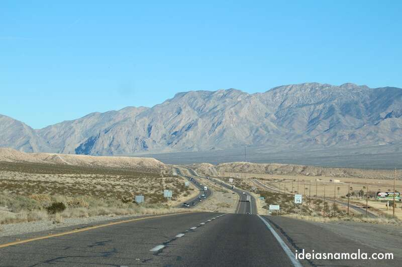 Canyons e montanhas no Arizona