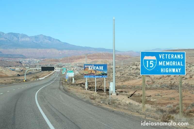 Fronteira Arizona - Utah