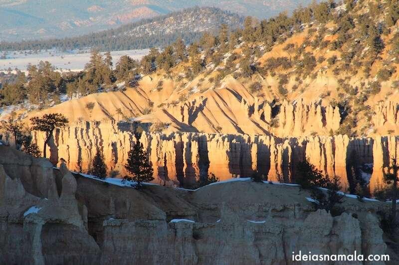 Por do Sol no Bryce Canyon