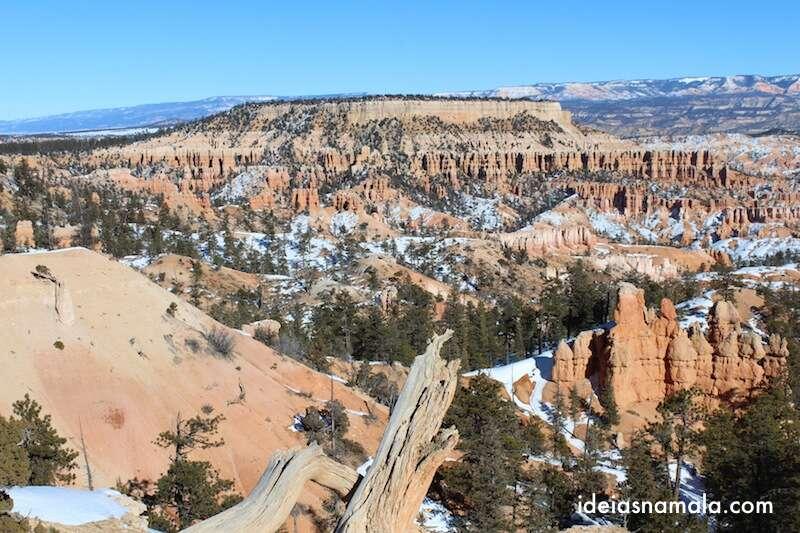 Vista do Rim Trail, Bryce