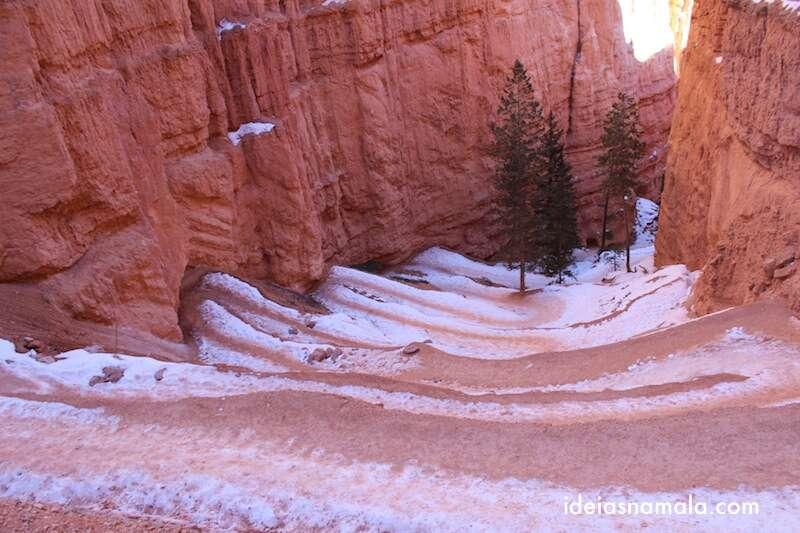 Subida Navajo Trail, Bryce