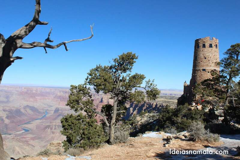 Desert View Watchtower | Grand Canyon