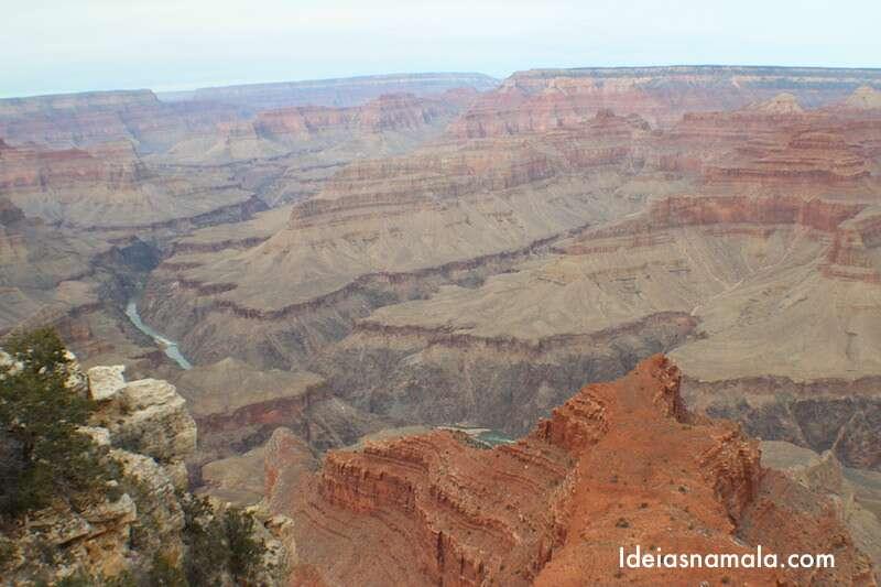 Um dia no Grand Canyon